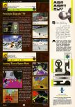 Scan of the preview of Looney Tunes: Space Race published in the magazine GamePro 126, page 1