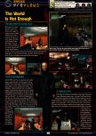 Scan of the preview of  published in the magazine GamePro 144, page 1