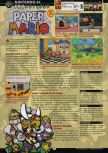 Scan of the review of Paper Mario published in the magazine GamePro 150, page 1