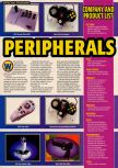 Scan of the article Pre-E3 1997 published in the magazine Electronic Gaming Monthly 096, page 8