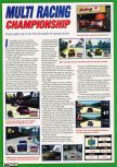 Scan of the preview of Multi Racing Championship published in the magazine Electronic Gaming Monthly 097, page 1