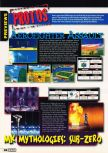 Scan of the preview of Aero Fighters Assault published in the magazine Electronic Gaming Monthly 097, page 1