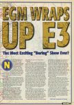 Scan of the article E3 1997 published in the magazine Electronic Gaming Monthly 098, page 2