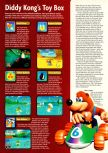 Scan of the review of Diddy Kong Racing published in the magazine Electronic Gaming Monthly 101, page 3