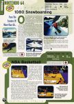 Scan of the preview of 1080 Snowboarding published in the magazine Electronic Gaming Monthly 103, page 1
