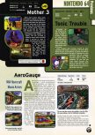 Scan of the preview of Earthbound 64 published in the magazine Electronic Gaming Monthly 103, page 1