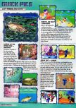 Scan of the preview of Kirby's Air Ride published in the magazine Q64 2, page 1
