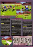 Scan of the review of Madden NFL 2000 published in the magazine Q64 6, page 2