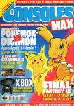 Cover scan of magazine Consoles Max  19