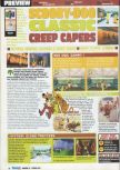Scan of the preview of Scooby Doo! Classic Creep Capers published in the magazine Consoles Max 19