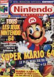 Cover scan of magazine Le Magazine Officiel Nintendo  01
