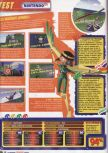 Scan of the review of Pilotwings 64 published in the magazine Le Magazine Officiel Nintendo 01