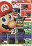 Scan of the review of Super Mario 64 published in the magazine Le Magazine Officiel Nintendo 01