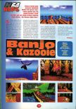 Scan of the preview of Banjo-Kazooie published in the magazine 64 Player 1