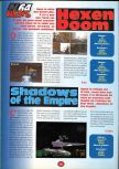 Scan of the preview of Doom 64 published in the magazine 64 Player 1