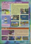 Scan of the walkthrough of  published in the magazine 64 Player 3, page 31