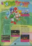 Scan of the walkthrough of Yoshi's Story published in the magazine 64 Player 3