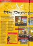 Scan of the review of Mace: The Dark Age published in the magazine Consoles + 071, page 1