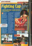 Scan of the preview of Fighters Destiny published in the magazine Consoles + 071