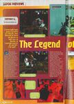 Scan of the preview of The Legend Of Zelda: Ocarina Of Time published in the magazine Consoles + 071