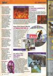 Scan of the preview of Last Legion UX published in the magazine Consoles + 071