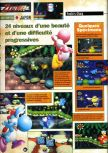 Scan of the review of Yoshi's Story published in the magazine Joypad 072