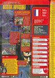 Scan of the review of Mission: Impossible published in the magazine Consoles + 081