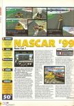 Scan of the review of NASCAR '99 published in the magazine X64 12