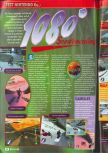 Scan of the review of 1080 Snowboarding published in the magazine Consoles + 075, page 1