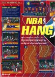 Scan of the preview of NBA Hangtime published in the magazine Consoles + 064