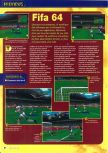 Scan of the preview of FIFA 64 published in the magazine Consoles + 064