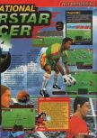 Scan of the review of International Superstar Soccer 64 published in the magazine Consoles + 067, page 2