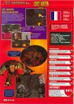 Scan of the review of Duke Nukem 64 published in the magazine Consoles + 070