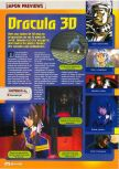 Scan of the preview of Castlevania published in the magazine Consoles + 070