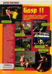 Scan of the preview of G.A.S.P!!: Fighter's NEXTream published in the magazine Consoles + 070