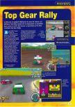 Scan of the preview of Top Gear Rally published in the magazine Consoles + 070