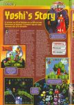 Scan of the preview of Yoshi's Story published in the magazine Consoles + 072