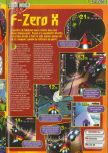 Scan of the preview of F-Zero X published in the magazine Consoles + 072