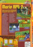 Scan of the preview of Paper Mario published in the magazine Consoles + 072