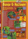 Scan of the preview of Banjo-Kazooie published in the magazine Consoles + 072