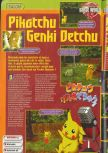 Scan of the preview of Hey You, Pikachu! published in the magazine Consoles + 072