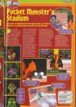 Scan of the preview of Pokemon Stadium published in the magazine Consoles + 072