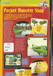 Scan of the preview of Pokemon Snap published in the magazine Consoles + 072