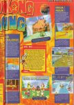 Scan of the review of Diddy Kong Racing published in the magazine Consoles + 072, page 2