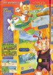 Scan of the review of Diddy Kong Racing published in the magazine Consoles + 072, page 5