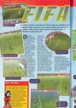 Scan of the review of FIFA 98: Road to the World Cup published in the magazine Consoles + 072, page 1