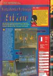 Scan of the review of Mortal Kombat Mythologies: Sub-Zero published in the magazine Consoles + 073