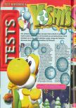 Scan of the review of Yoshi's Story published in the magazine Consoles + 073, page 1