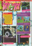 Scan of the review of Yoshi's Story published in the magazine Consoles + 073
