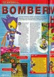 Scan of the review of Bomberman Hero published in the magazine Consoles + 077, page 1